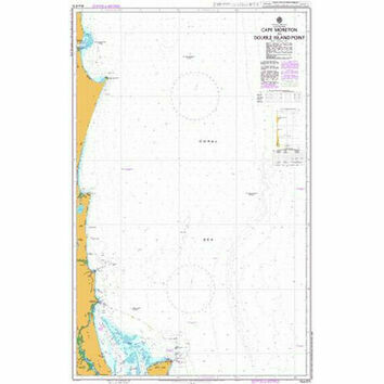 AUS815 Cape Moreton to Double Island Point Admiralty Chart