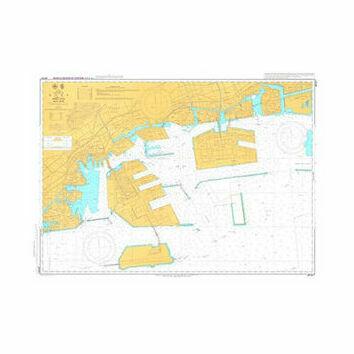 JP101A Kobe Admiralty Chart
