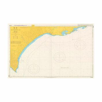 JP1032 Erimo Misaki to Ochiishi Misaki Admiralty Chart