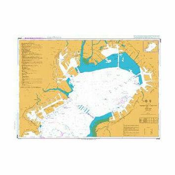 JP1061 Northern Part of Tokyo Wan Admiralty Chart