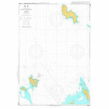 JP1266 Kanmon Ko Shira Shima and Approaches Admiralty Chart