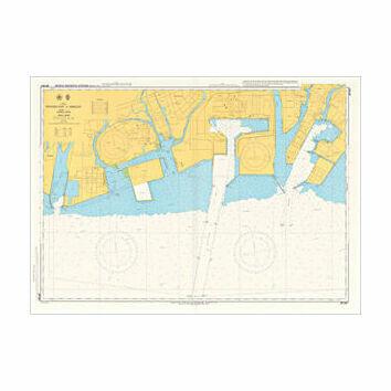 JP134B Western Part of Himeji Ko Admiralty Chart