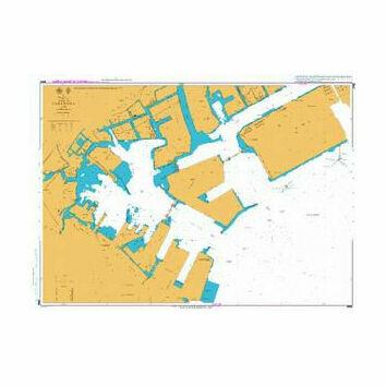 JP66 Yokohama Admiralty Chart