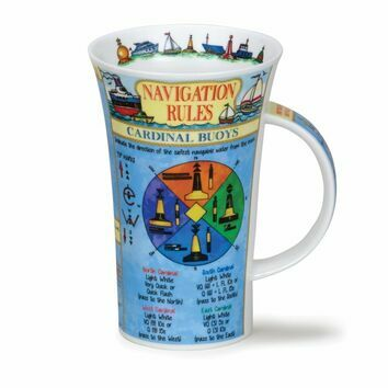 Dunoon Navigation Rules Glencoe Shaped Mug