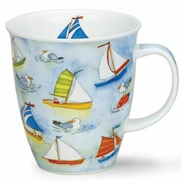 Nevis Mug - on the water - Sailing Boats