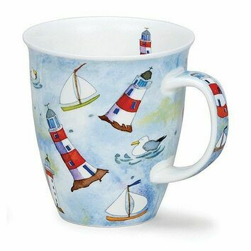 Dunoon On The Water Lighthouse Nevis Shaped Mug