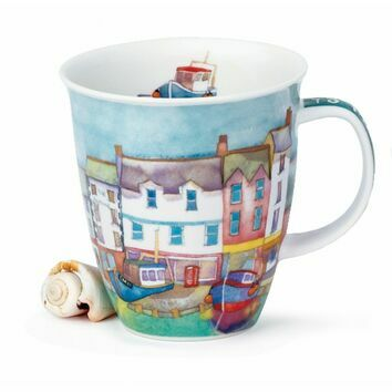 Dunoon By The Coast Harbour Nevis Shaped Mug