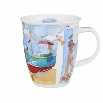 Dunoon Sea Breeze Lighthouse Nevis Shaped Mug