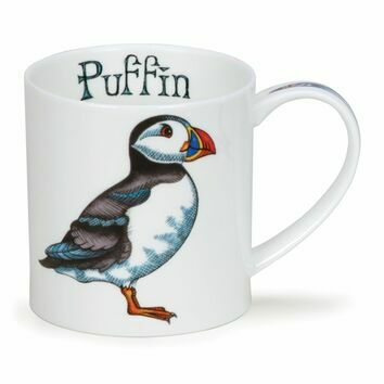 Dunoon Puffin Orkney Shaped Mug