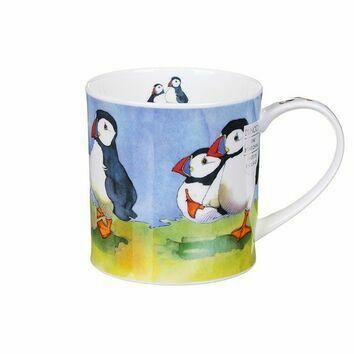 Orkney - Seaside Puffins Mug