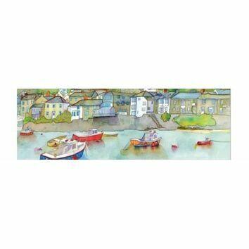 Emma Ball 2 Fold Card Calm Harbour