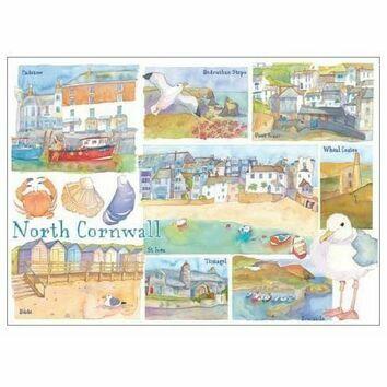 Emma Ball North Cornwall Fridge Magnet