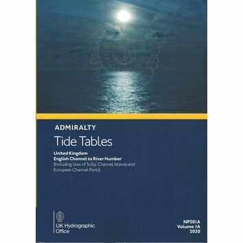 Admiralty NP201A Tide Tables: UK - English Channel to River Humber