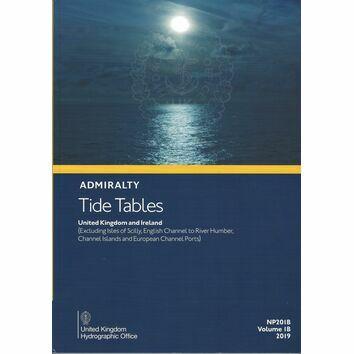 Admiralty NP201B Tide Tables 2019: UK & Ireland (Volume 1B)