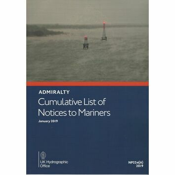 Admiralty Cumulative List of Notices to Mariners NP234(A)
