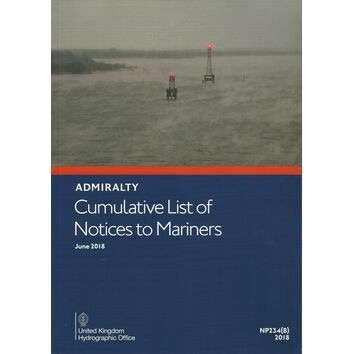 Admiralty Cumulative List of Notices to Mariners NP234(B)