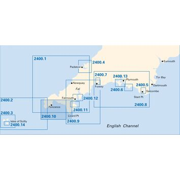 Imray Chart 2400.10 Lizard Point to Lands End
