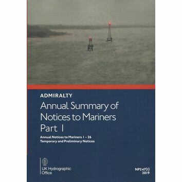 NP247(1) Admiralty Annual Summary of Notices to mariners Part 1