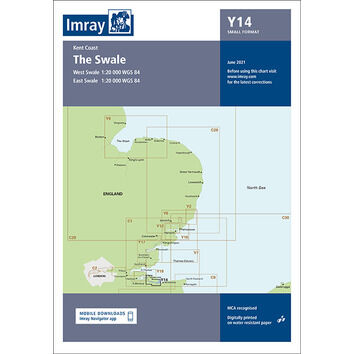 Imray Chart Y14: The Swale