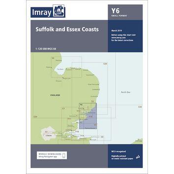 Imray Chart Y6: Suffolk & Essex Coasts
