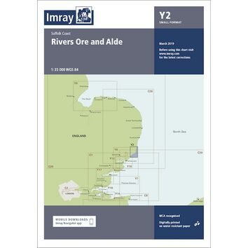 Imray Chart Y2: Rivers Ore and Alde
