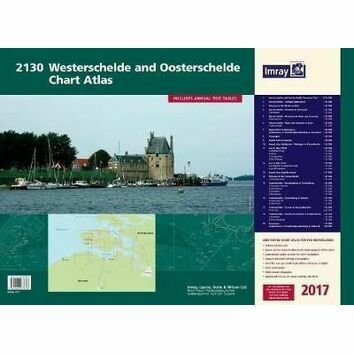 Imray 2130 Westerscheldwe and Oosterschelde Chart Atlas