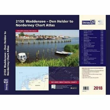 Imray 2150 Waddenzee - Den Helder to Norderney Chart Atlas