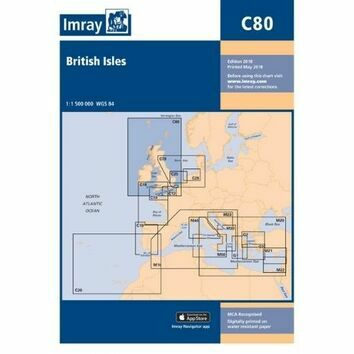 Imray Chart C80: British Isles