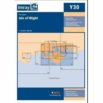 Imray Chart Y30: Isle of Wight