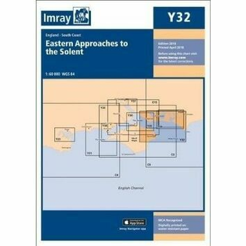 Imray Chart Y32: Eastern Approaches to the Solent