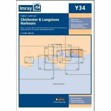 Imray Chart Y34: Chichester & Langstone Harbours