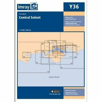 Imray Chart Y36: Central Solent