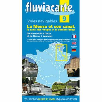 Imray Fluviacarte 9: La Meuse
