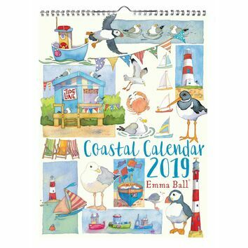 Emma Ball Coastal Calendar 2019