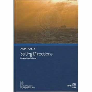 NP56 Admiralty Sailing Directions Norway Pilot Vol 1