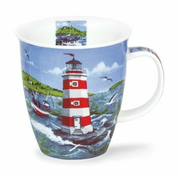 Dunoon Lighthouses Nevis Shaped Mug