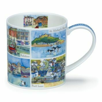 Dunoon Cornwall Orkney Shaped Mug