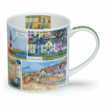 Dunoon Devon Orkney Shaped Mug