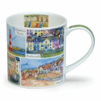 Dunoon Devon Orkney Shaped Mug