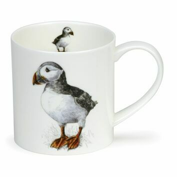 Dunoon Puffin Longmuir Orkney Shaped Mug
