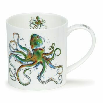 Dunoon Tentacles Orkney Shaped Mug