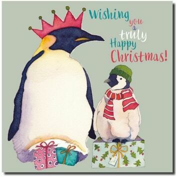 Emma Ball \'Penguins\' Christmas Cards (Pack of 6)