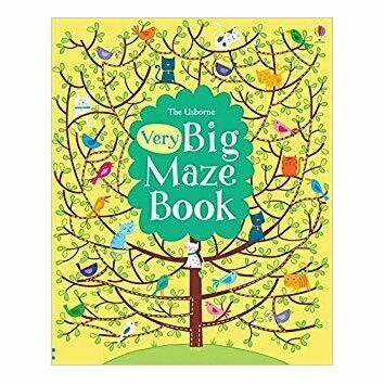 The Usborne Very Big Maze Book
