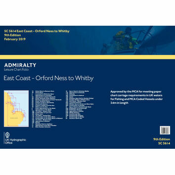 SC5614 East Coast: Orford Ness to Whitby Admiralty Leisure Folio
