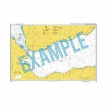 3207 Antarctica - Graham Land, Gerlache Strait, Bluff Island to Emma Island Admiralty Chart