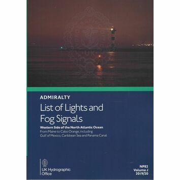 Admiralty NP82 List of Lights & Fog Signals (Volume J)