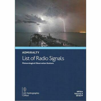 Admiralty NP284 List of Radio Signals (Volume 4)