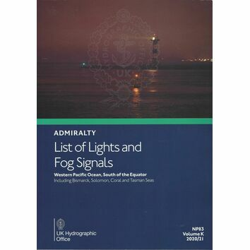 Admiralty NP83 List of Lights & Fog Signals (Volume K) Western Pacific Ocean, South of the Equator