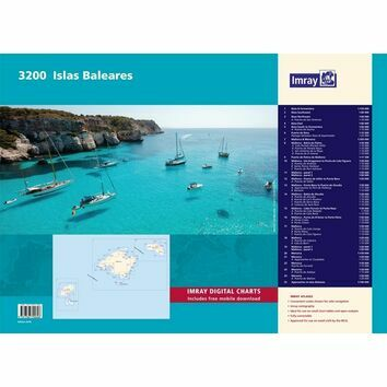 Imray 3200 Islas Baleares Chart Atlas