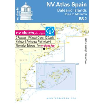 NV. Atlas Spain ES2: Balearic Islands - Ibiza to Menorca